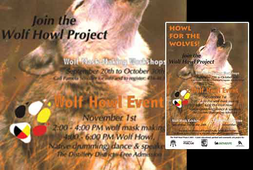 preview image of the Wolf Howl Project poster